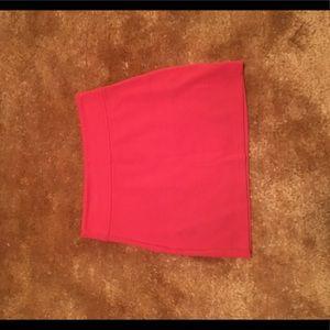 Dresses & Skirts - Salmon-colored pencil skirt